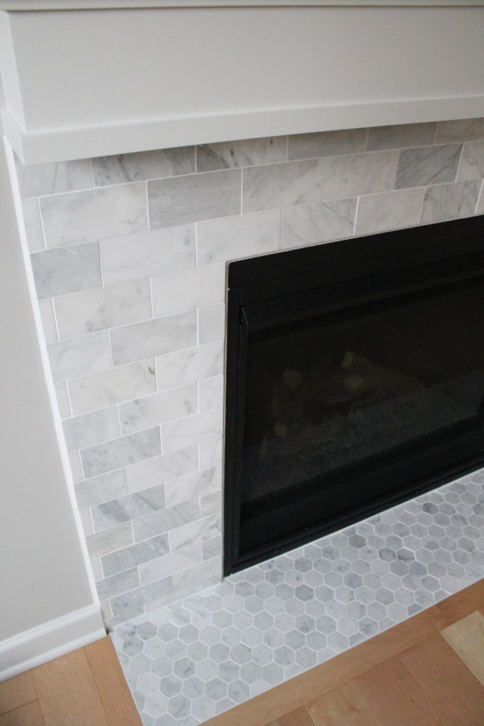 Carrara Marble Fireplace Project | construction2style