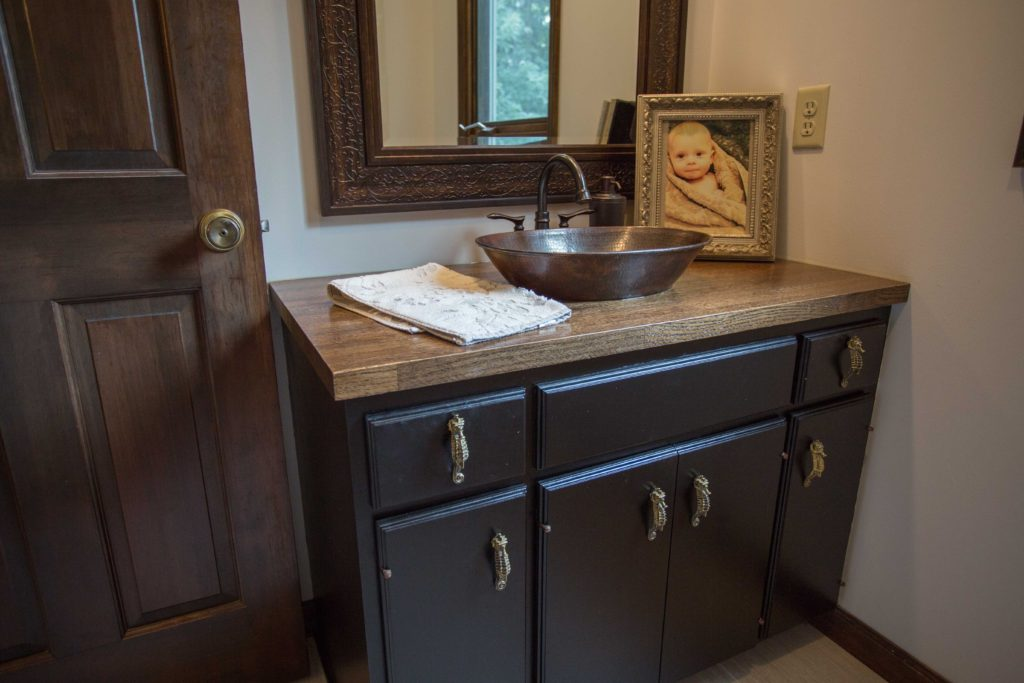 How to Build a Butcher Block Vanity   construction2style