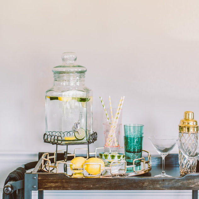how to style your bar cart | construction2style