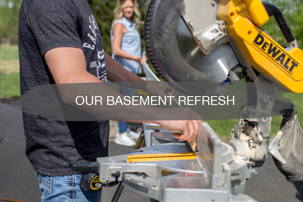 our basement refresh | construction2style