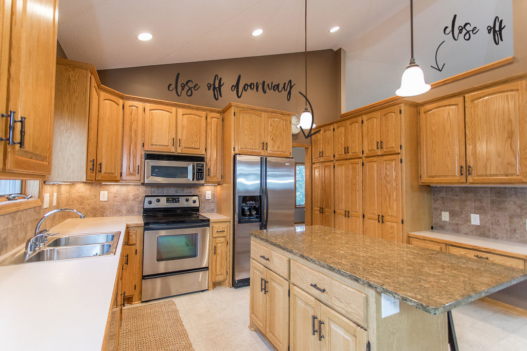 kitchen remodel before   construction2style
