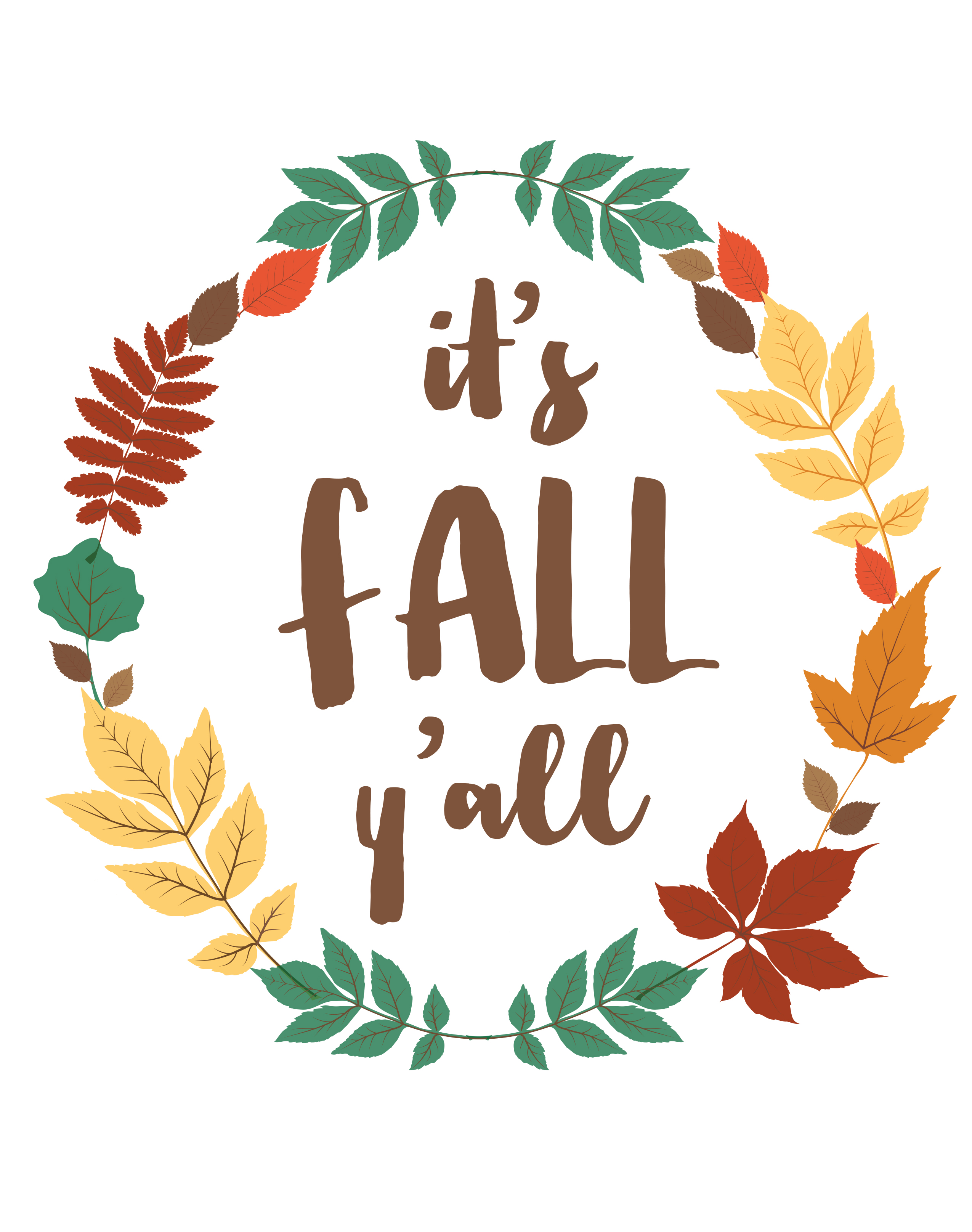 Free Fall Printable 3 | construction2style