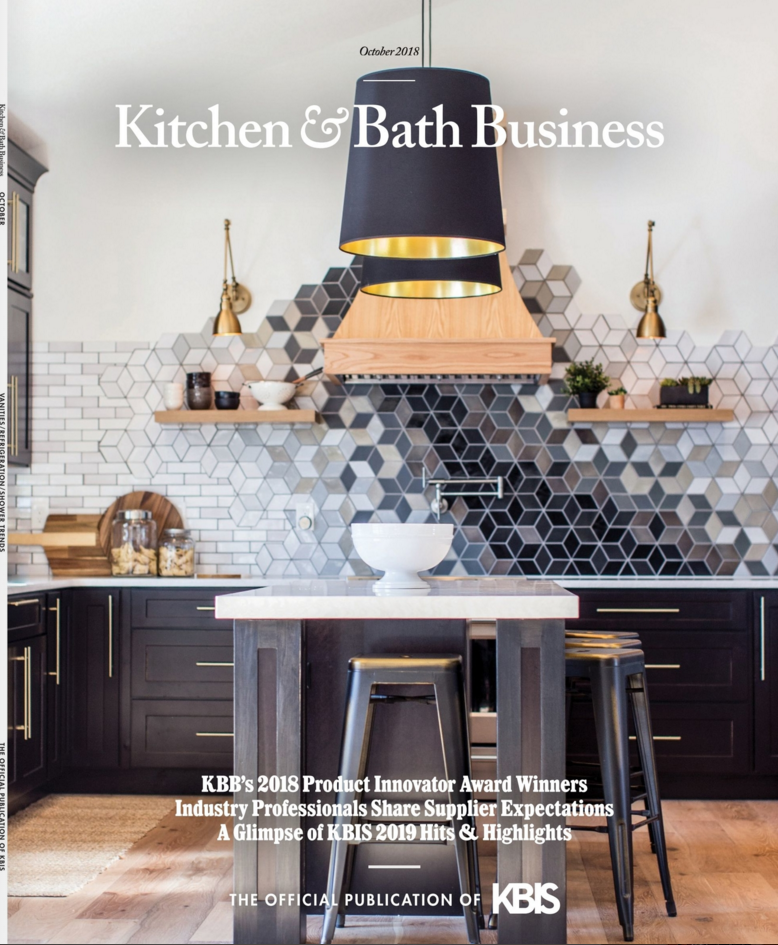 Kitchen & Bath Business | construction2style kitchen feature | Jamie & Morgan Molitor