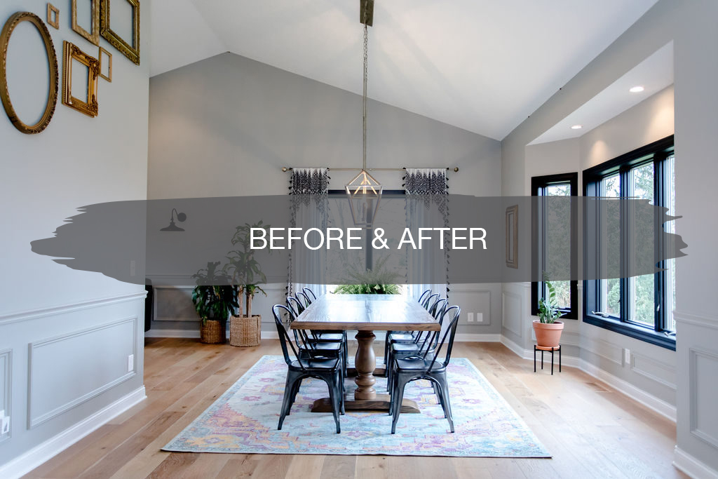 Dining Room Before and After cover | construction2style