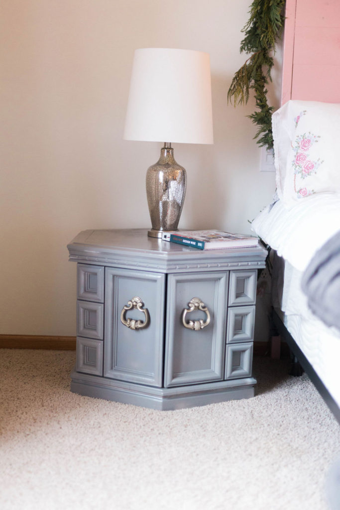 master bedroom refresh with spray paint | construction2style