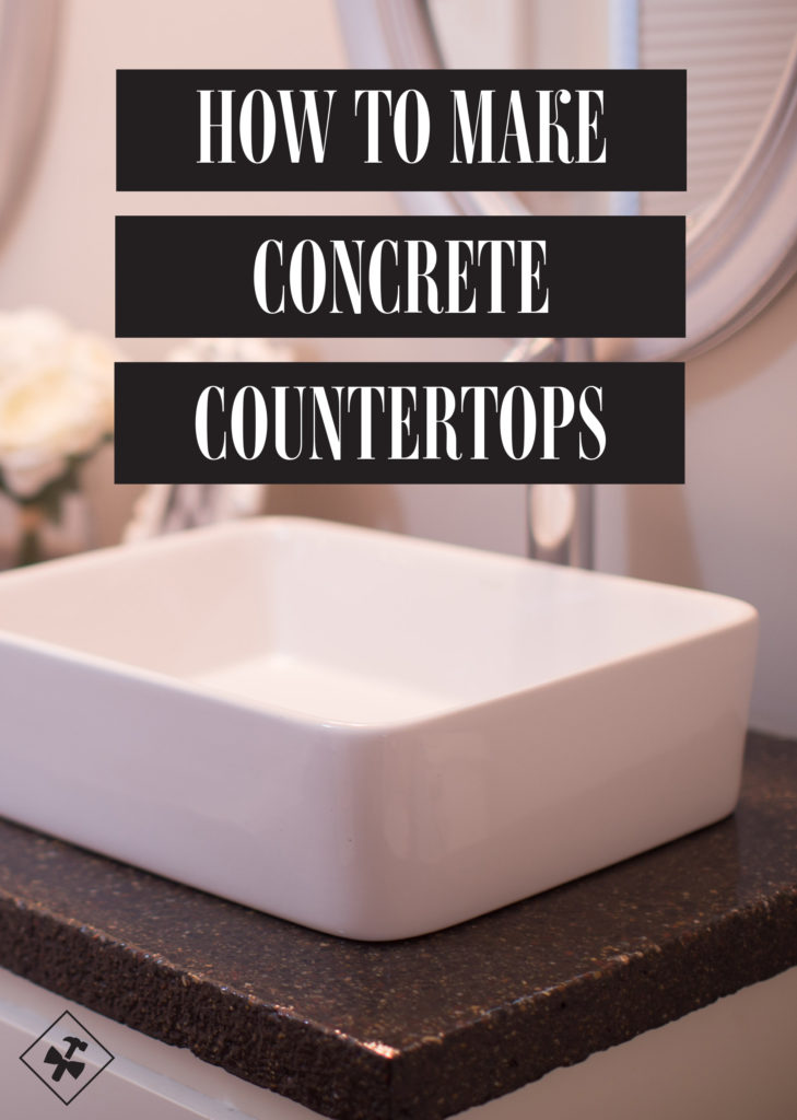 How To Make Concrete Countertops | construction2style
