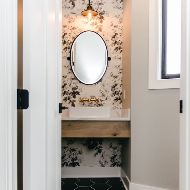 Powder Bathroom Design | Rogers, MN 11