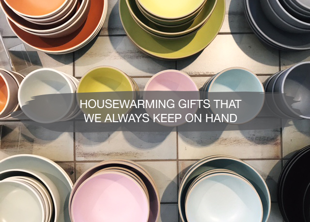 Housewarming Gifts that we Always Keep on Hand | construction2style