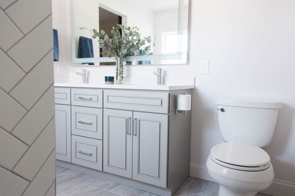 Casco Point Master Bathroom | Before & After 17