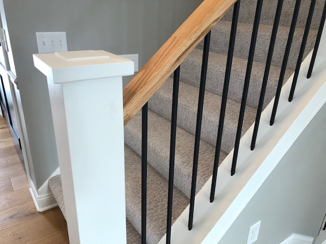 Our New Staircase Railing! | construction2style