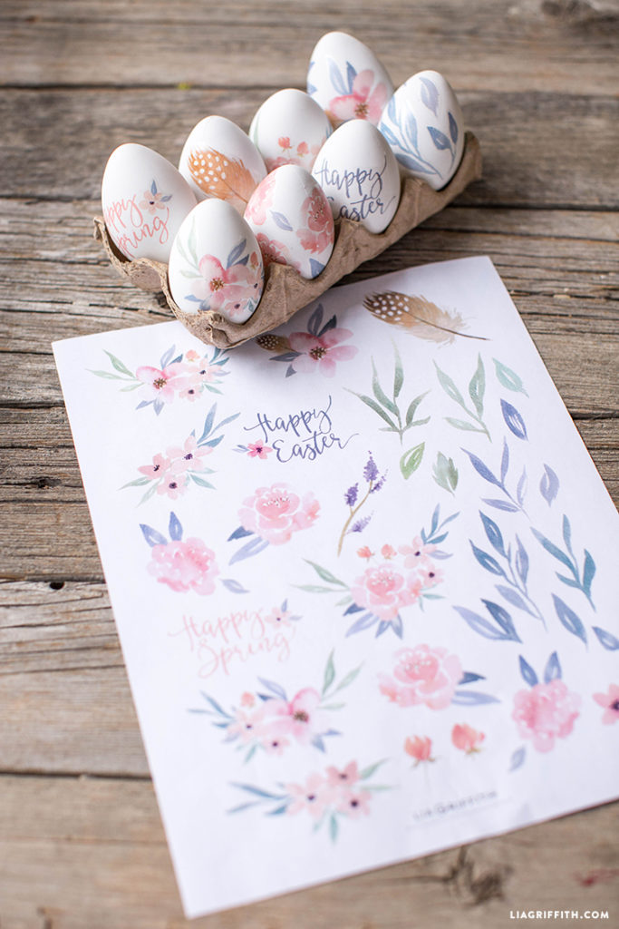 DIY Easter Egg Coloring Ideas | construction2style