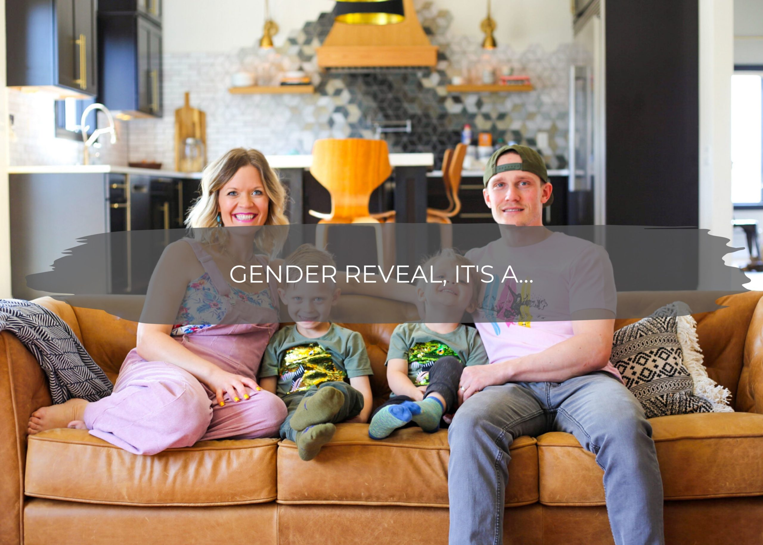 Gender Reveal, IT'S A... | construction2style