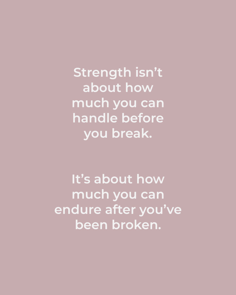 Strength Quotes + Printables That Will Make You Feel Strong 6