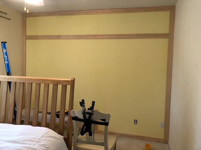 How to DIY a Shaker Panel Accent Wall 5