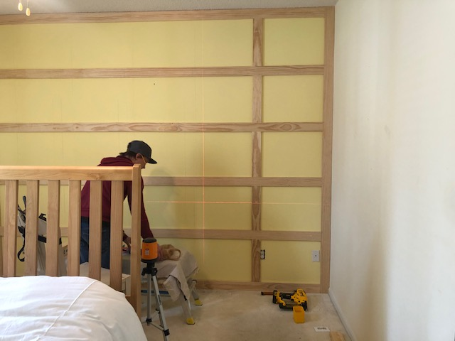 How to DIY a Shaker Panel Accent Wall 4