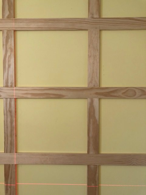 How to DIY a Shaker Panel Accent Wall 8