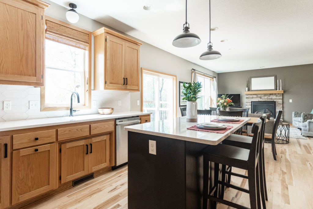 Alamo Kitchen Refresh | Before & After