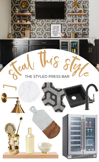 The Styled Press Lower Level Reveal 31